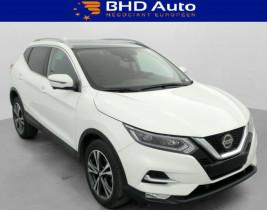 Nissan Qashqai Blanc, garage BHD AUTO à Biganos