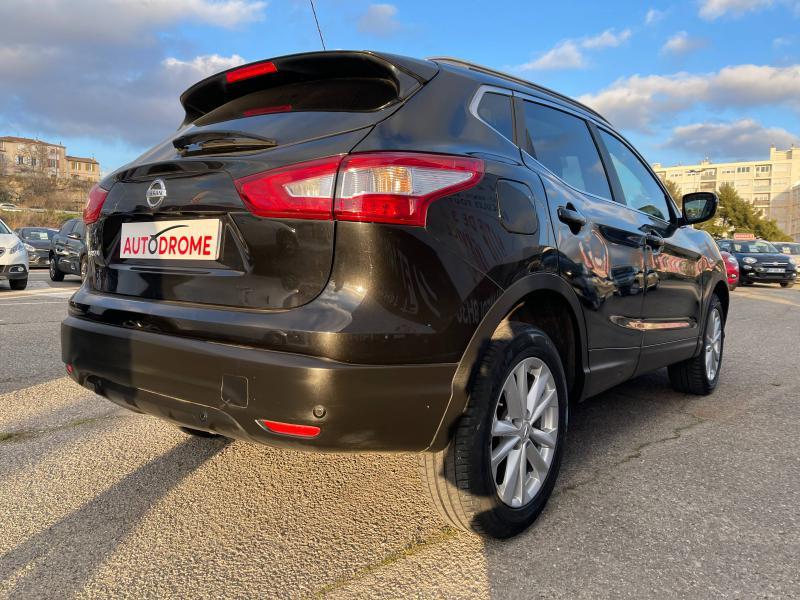 Nissan Qashqai 1.2L DIG-T 115ch Acenta - 22 000 Kms Noir occasion à Marseille 10 - photo n°6