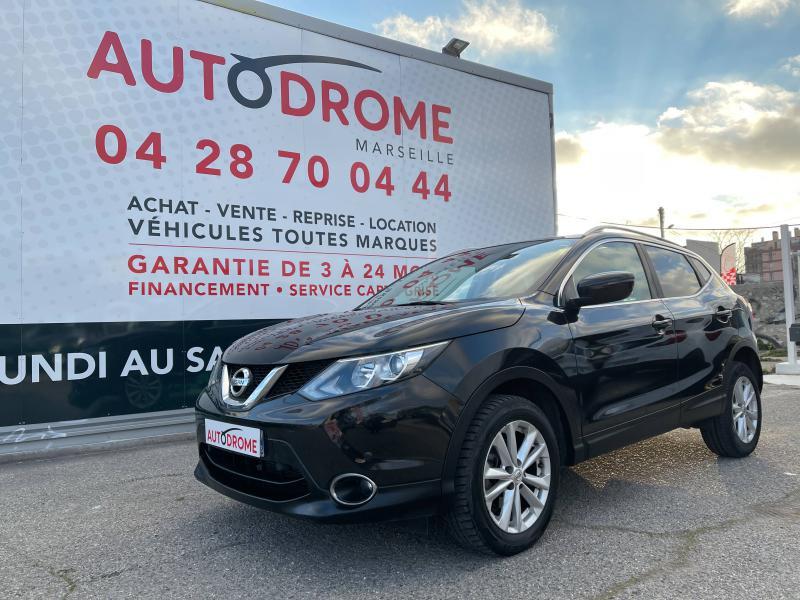 Nissan Qashqai 1.2L DIG-T 115ch Acenta - 22 000 Kms Noir occasion à Marseille 10