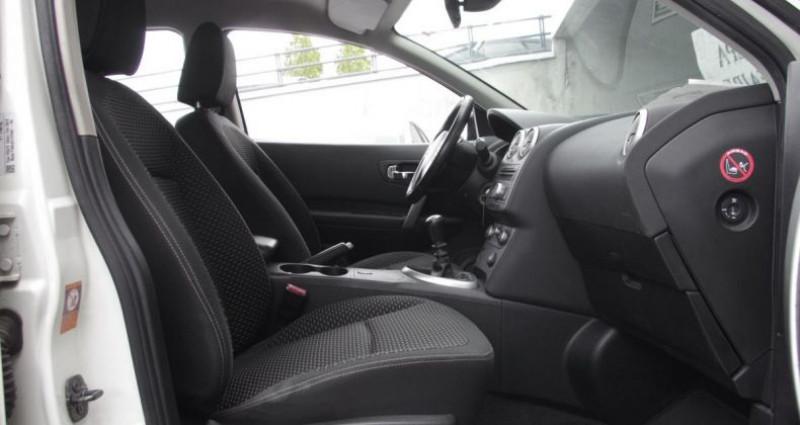 Nissan Qashqai 1.5 DCI 106 ACENTA Blanc occasion à Chambourcy - photo n°3
