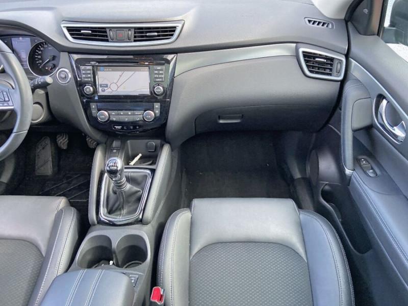 Nissan Qashqai 1.5 DCI 110 BV6 TEKNA TOIT PANO Semi Cuir JA 19 Noir occasion à Montauban - photo n°12