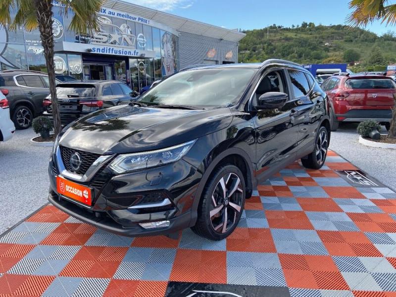 Nissan Qashqai 1.5 DCI 110 BV6 TEKNA TOIT PANO Semi Cuir JA 19 Noir occasion à Montauban