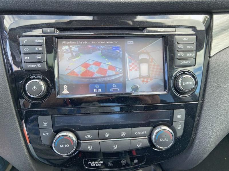 Nissan Qashqai 1.5 DCI 110 BV6 TEKNA TOIT PANO Semi Cuir JA 19 Noir occasion à Montauban - photo n°15