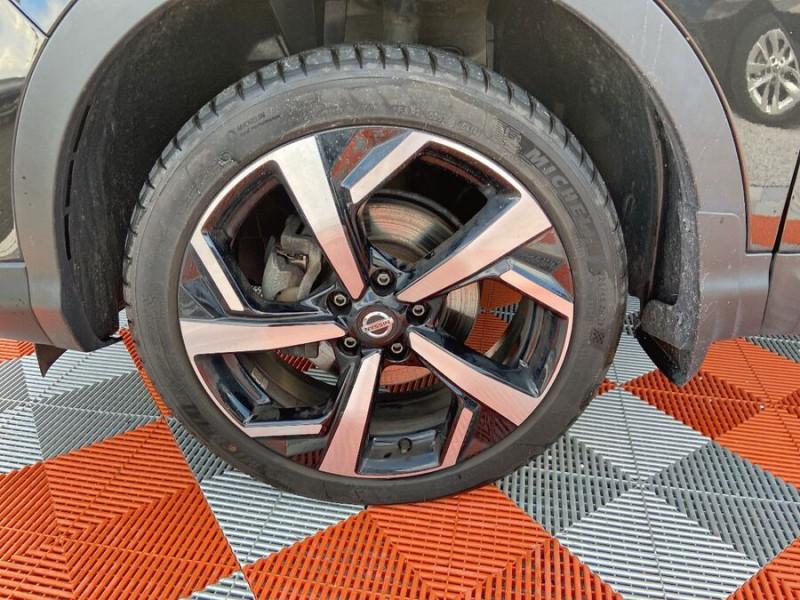 Nissan Qashqai 1.5 DCI 110 BV6 TEKNA TOIT PANO Semi Cuir JA 19 Noir occasion à Montauban - photo n°19