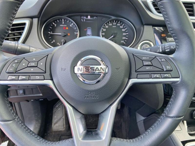 Nissan Qashqai 1.5 DCI 110 BV6 TEKNA TOIT PANO Semi Cuir JA 19 Noir occasion à Montauban - photo n°16