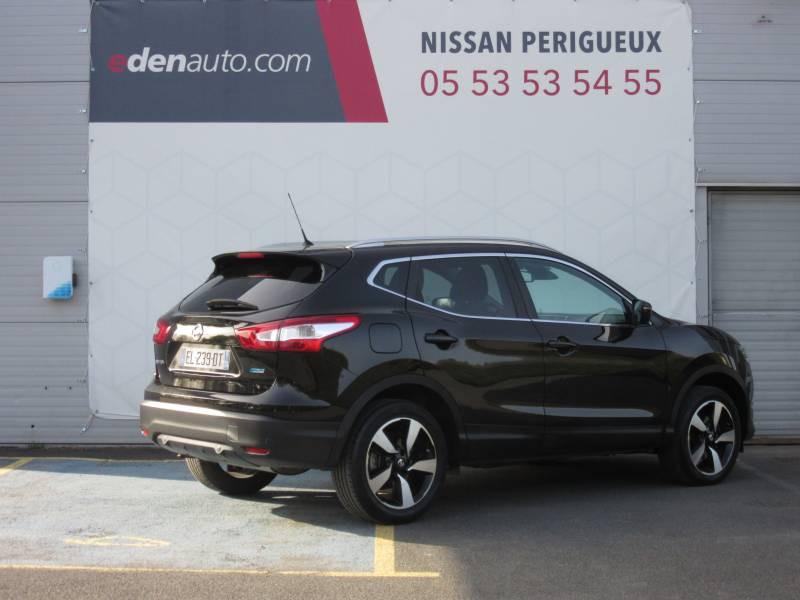 Nissan Qashqai 1.5 dCi 110 N-Connecta Noir occasion à Périgueux - photo n°5