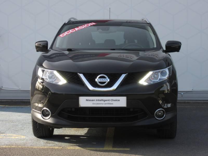 Nissan Qashqai 1.5 dCi 110 N-Connecta Noir occasion à Périgueux - photo n°8