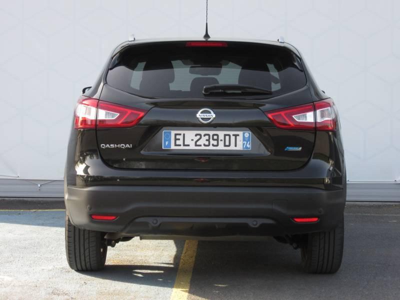 Nissan Qashqai 1.5 dCi 110 N-Connecta Noir occasion à Périgueux - photo n°4