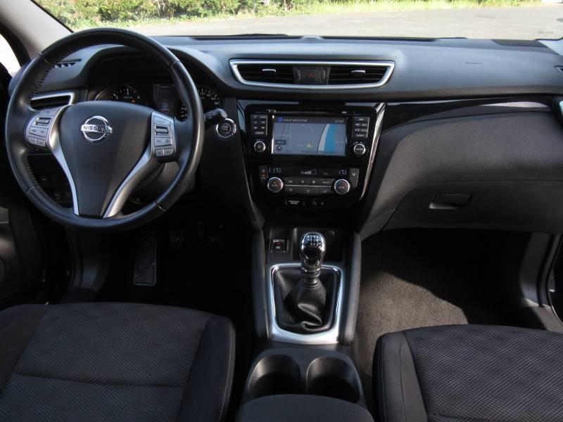 Nissan Qashqai 1.5 dCi 110 N-Connecta Noir occasion à Périgueux - photo n°11