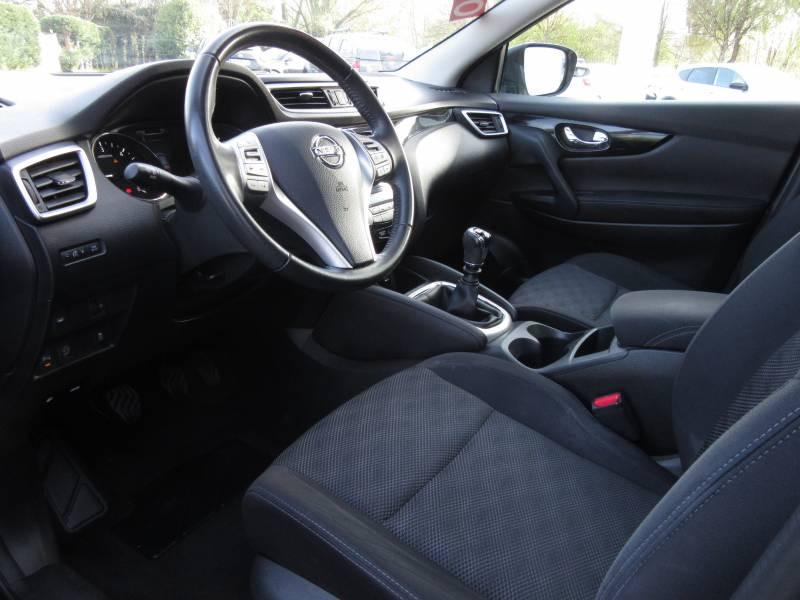 Nissan Qashqai 1.5 dCi 110 N-Connecta Noir occasion à Périgueux - photo n°14