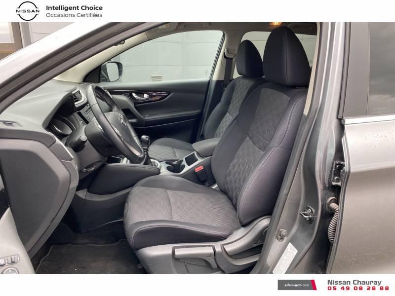 Nissan Qashqai 1.5 dCi 110 N-Connecta Gris occasion à Chauray - photo n°6