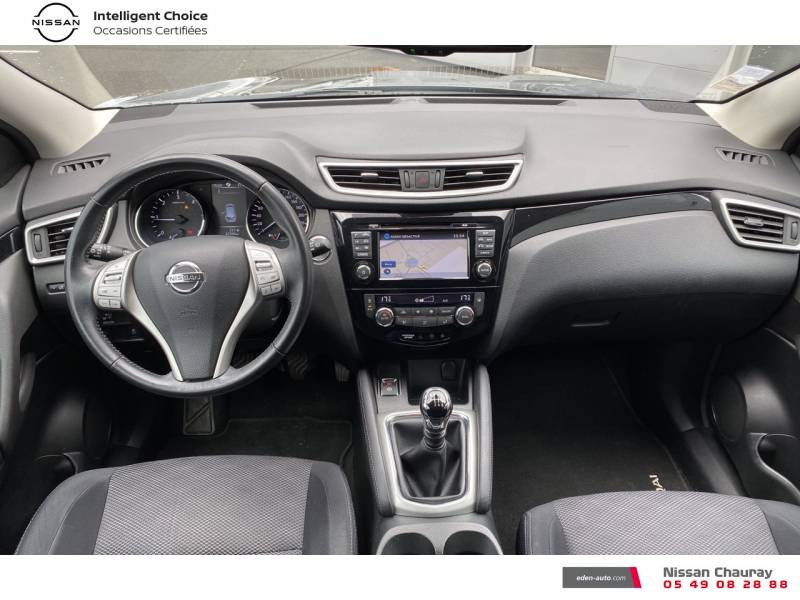 Nissan Qashqai 1.5 dCi 110 N-Connecta Gris occasion à Chauray - photo n°8