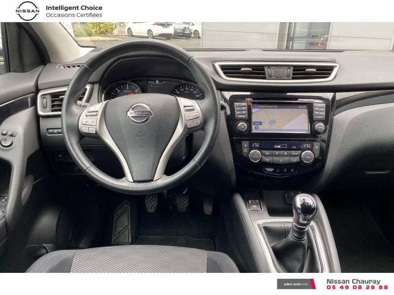 Nissan Qashqai 1.5 dCi 110 N-Connecta Gris occasion à Chauray - photo n°10