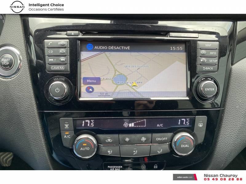 Nissan Qashqai 1.5 dCi 110 N-Connecta Gris occasion à Chauray - photo n°11