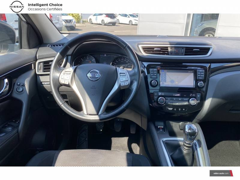 Nissan Qashqai 1.5 dCi 110 N-Connecta Blanc occasion à Chauray - photo n°10