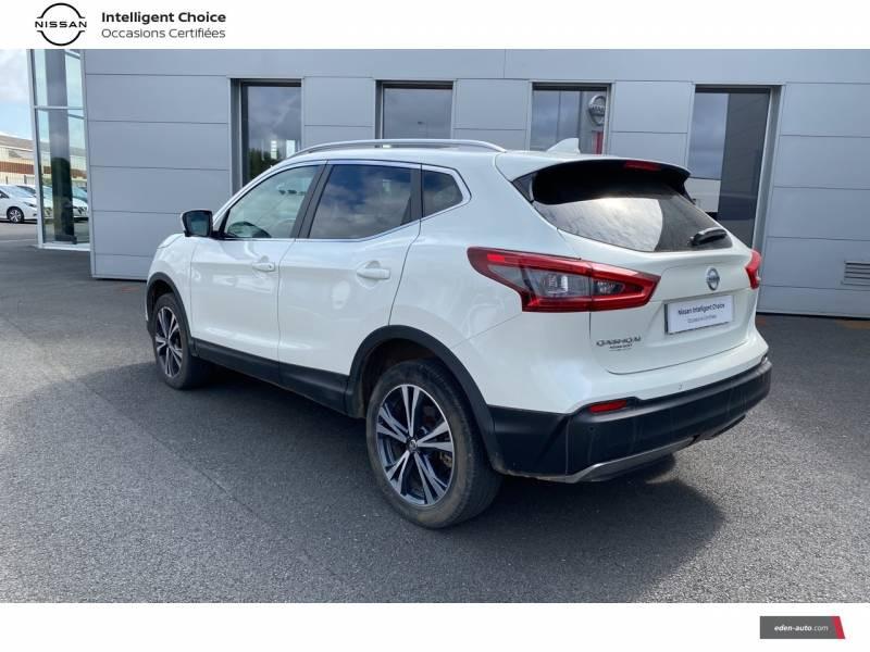 Nissan Qashqai 1.5 dCi 110 N-Connecta Blanc occasion à Chauray - photo n°7