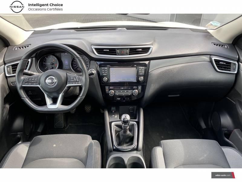 Nissan Qashqai 1.5 dCi 110 N-Connecta Blanc occasion à Chauray - photo n°9