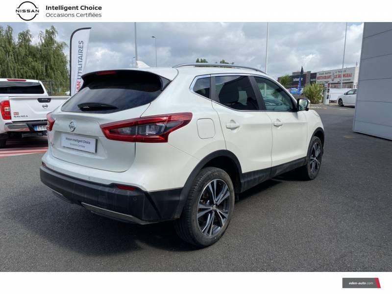 Nissan Qashqai 1.5 dCi 110 N-Connecta Blanc occasion à Chauray - photo n°17