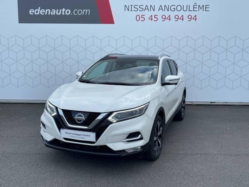 Nissan Qashqai 1.5 dCi 110 Tekna Blanc occasion à Champniers