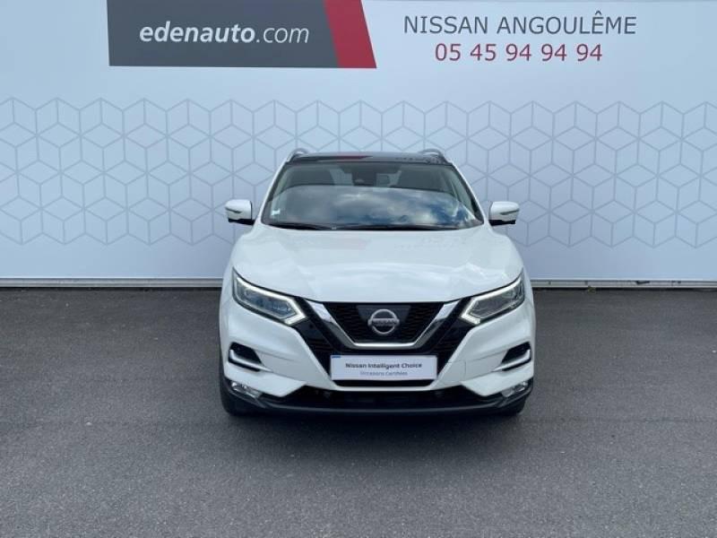 Nissan Qashqai 1.5 dCi 110 Tekna Blanc occasion à Champniers - photo n°5