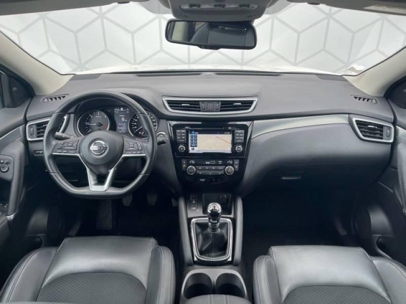 Nissan Qashqai 1.5 dCi 110 Tekna Blanc occasion à Champniers - photo n°6