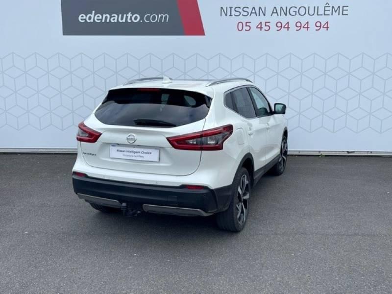 Nissan Qashqai 1.5 dCi 110 Tekna Blanc occasion à Champniers - photo n°15