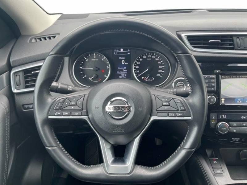 Nissan Qashqai 1.5 dCi 110 Tekna Blanc occasion à Champniers - photo n°10