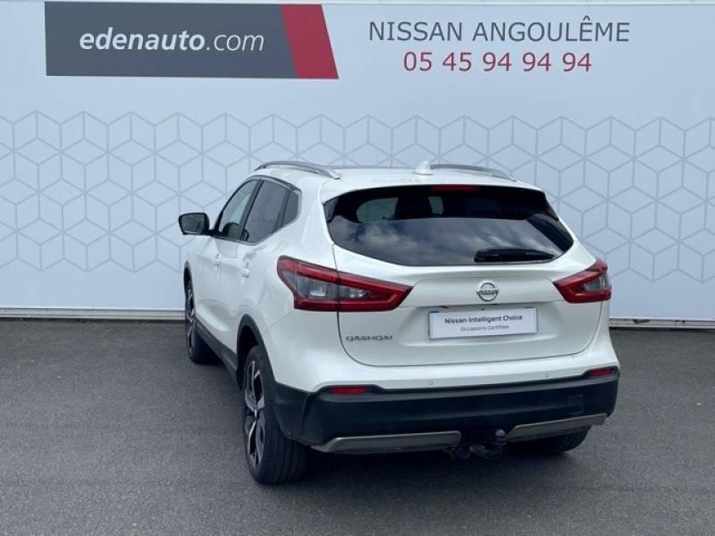 Nissan Qashqai 1.5 dCi 110 Tekna Blanc occasion à Champniers - photo n°3