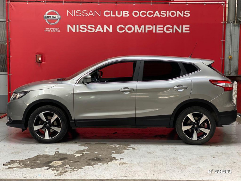 Nissan Qashqai 1.5 dCi 110ch N-Connecta Gris occasion à Venette - photo n°8
