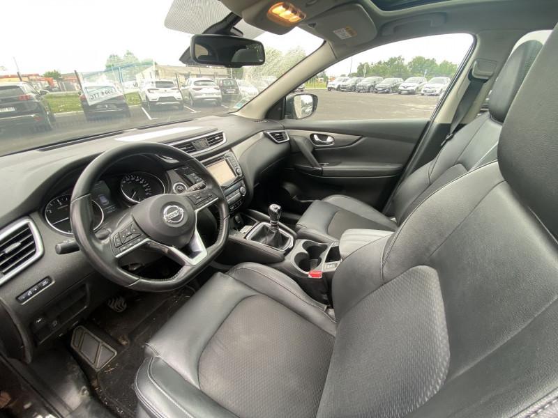 Nissan Qashqai 1.5 DCI 110CH TEKNA Noir occasion à Serres-Castet - photo n°8