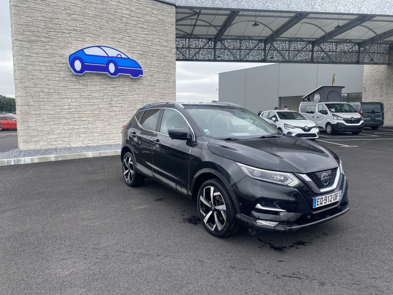 Nissan Qashqai 1.5 DCI 110CH TEKNA Noir occasion à Serres-Castet - photo n°6