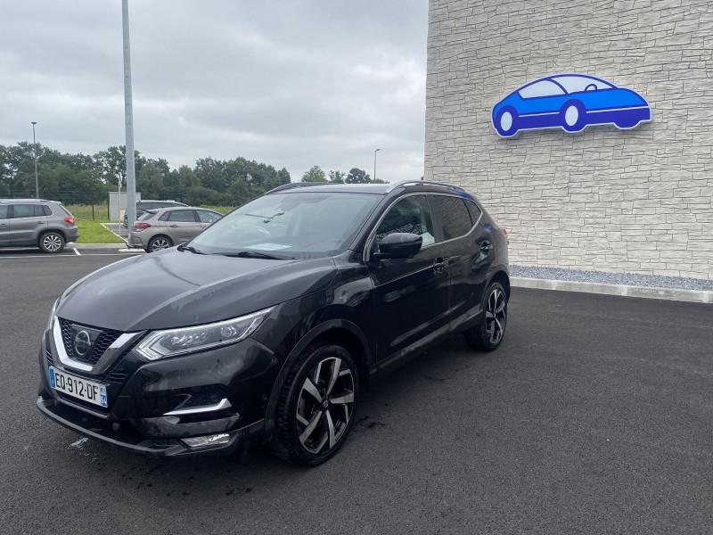 Nissan Qashqai 1.5 DCI 110CH TEKNA Noir occasion à Serres-Castet