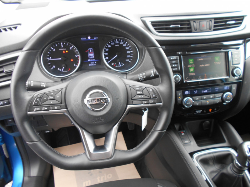 Nissan Qashqai 1.5 dCi 115 Business Edition Bleu occasion à Bessières - photo n°10