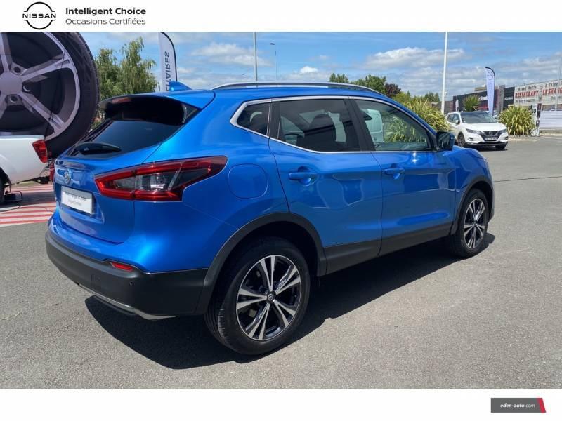 Nissan Qashqai 1.5 dCi 115 N-Connecta Bleu occasion à Chauray - photo n°13