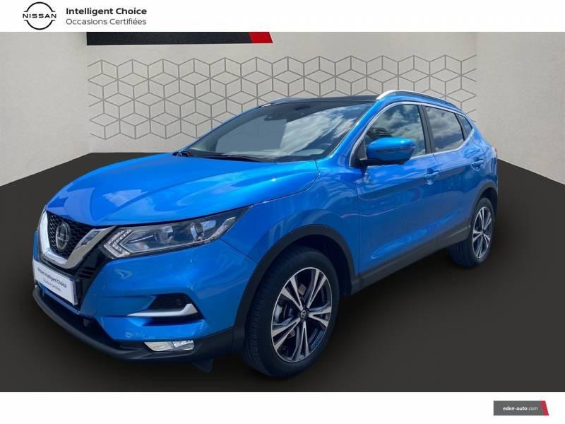 Nissan Qashqai 1.5 dCi 115 N-Connecta Bleu occasion à Chauray