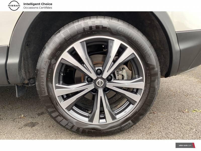 Nissan Qashqai 1.5 dCi 115 N-Connecta Blanc occasion à Chauray - photo n°5