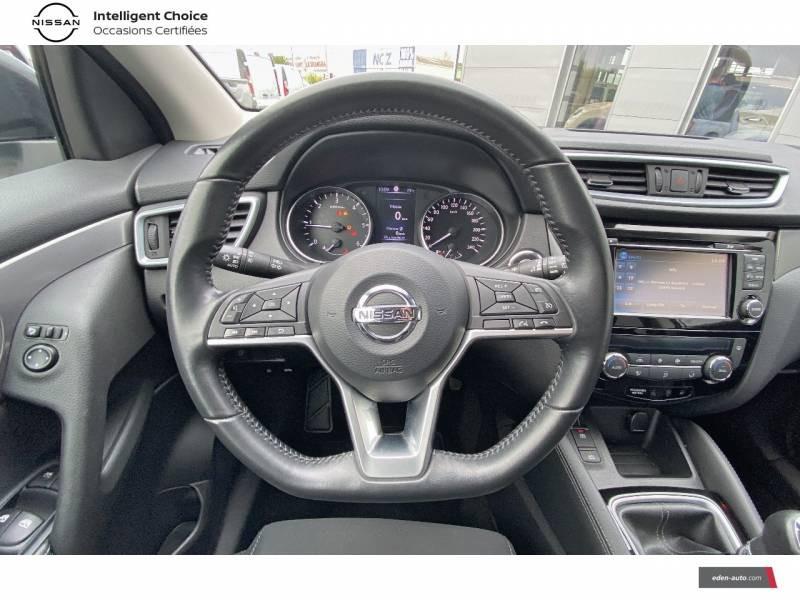 Nissan Qashqai 1.5 dCi 115 N-Connecta Blanc occasion à Chauray - photo n°10