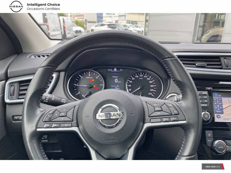 Nissan Qashqai 1.5 dCi 115 N-Connecta Blanc occasion à Chauray - photo n°12