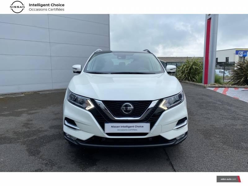 Nissan Qashqai 1.5 dCi 115 N-Connecta Blanc occasion à Chauray - photo n°2
