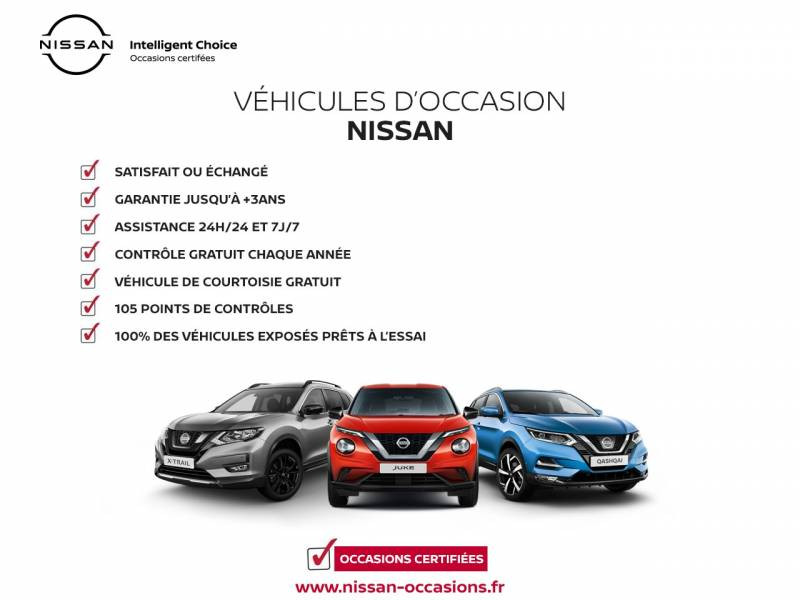 Nissan Qashqai 1.5 dCi 115 N-Connecta Blanc occasion à Chauray - photo n°19