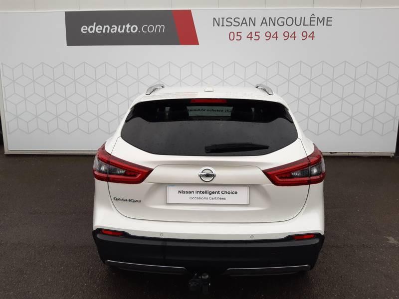 Nissan Qashqai 1.5 dCi 115 Tekna Blanc occasion à Champniers - photo n°12