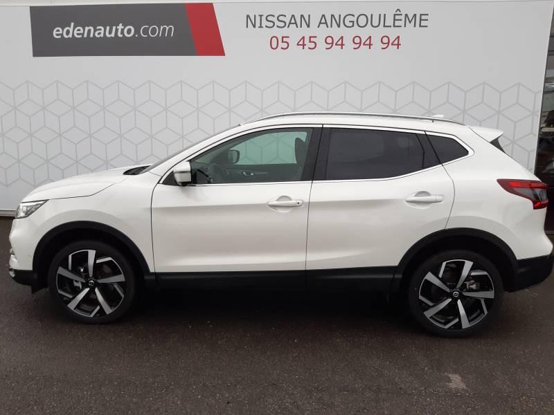 Nissan Qashqai 1.5 dCi 115 Tekna Blanc occasion à Champniers - photo n°2