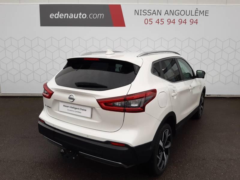 Nissan Qashqai 1.5 dCi 115 Tekna Blanc occasion à Champniers - photo n°15