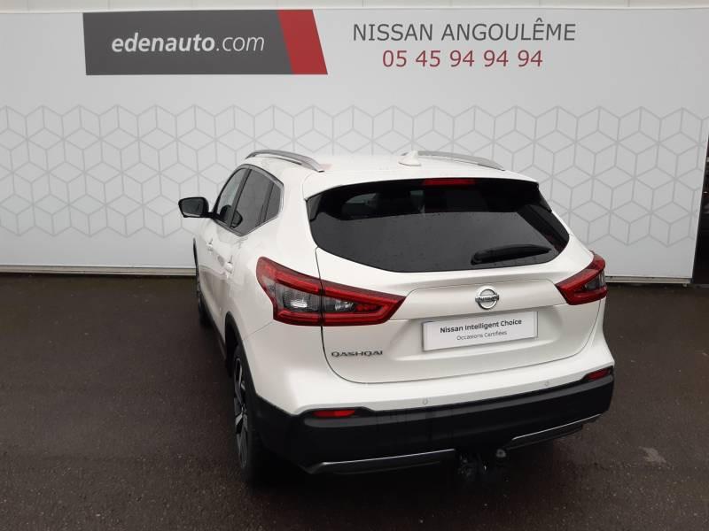 Nissan Qashqai 1.5 dCi 115 Tekna Blanc occasion à Champniers - photo n°3