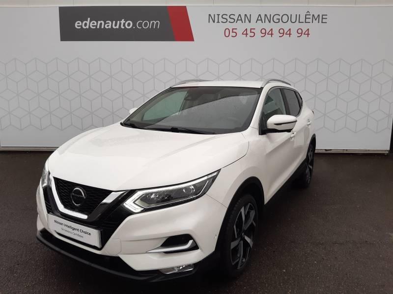 Nissan Qashqai 1.5 dCi 115 Tekna Blanc occasion à Champniers