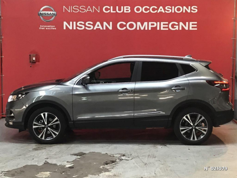 Nissan Qashqai 1.5 dCi 115ch N-Connecta 2019 Gris occasion à Venette - photo n°8