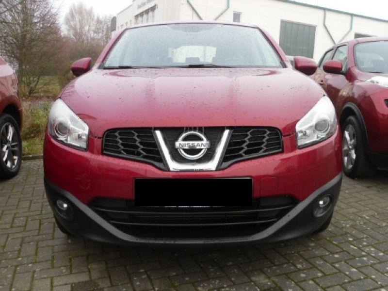 Nissan Qashqai 1.5 DCI ACENTA Rouge occasion à Beaupuy - photo n°4