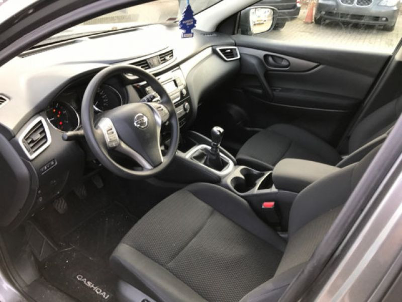 Nissan Qashqai 1.5 DCI VISIA Gris occasion à Beaupuy