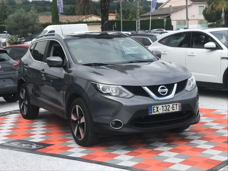 Nissan Qashqai 1.6 DCI 110CH N-CONNECTA TOIT PANO Gris occasion à Lescure-d'Albigeois - photo n°8