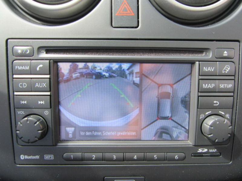 Nissan Qashqai 1.6 DCI 7 places Noir occasion à Beaupuy - photo n°5
